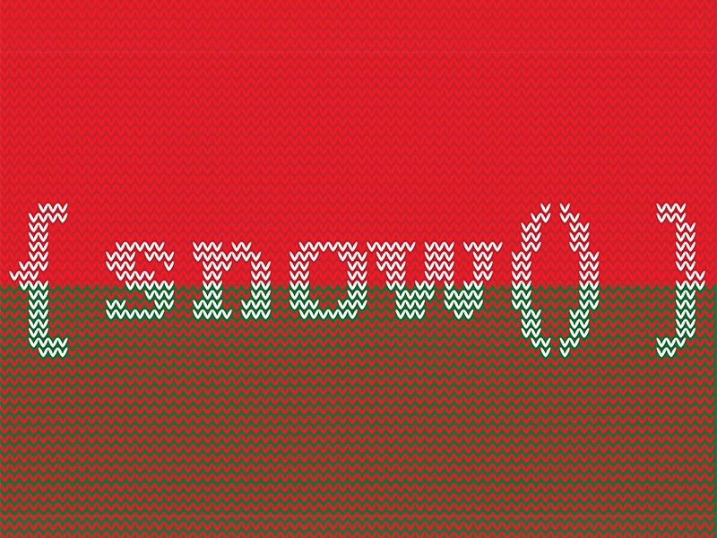 Snow Function Ugly Sweater javascript function snow graphic design