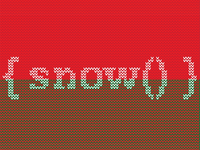 Snow Function Ugly Sweater