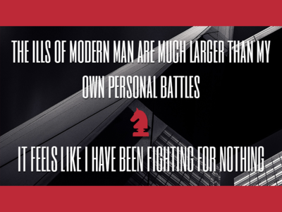 The Ills of Modern Man graphic design crap lyrics despised icon
