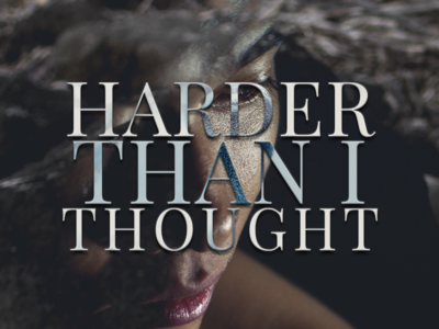 Harder Than I Thought just for fun photoshop unsplash graphic design