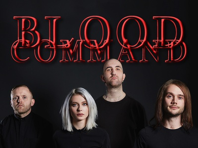 Blood Command Band Playlist Cover spotify playlist album art blood command