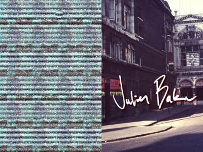 Julien Baker televangelist graphic design julienbaker