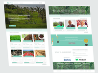 Investement Company Web Application - Homepage