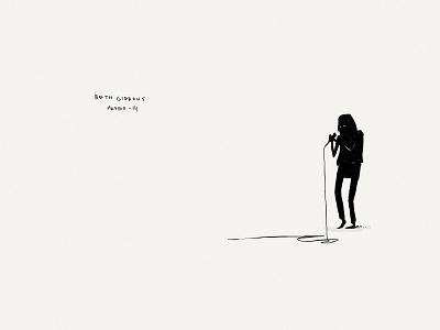 Paper Book: Beth Gibbons illustration paper 53 minimalist ink gibbons portishead