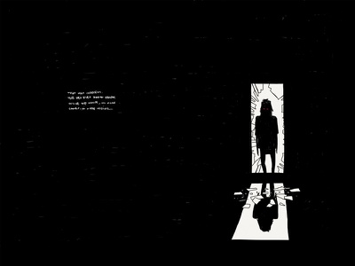 Paper Book: Indecent illustration paper 53 minimalist ink short story story horror mystery