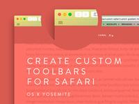 Custom Safari Toolbars