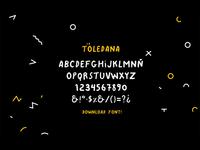 La Toledana - Script Font