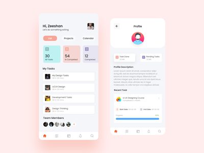 Task Management ios app android app design appuiux application design app design task management app task management app ui ux app ui ui app design