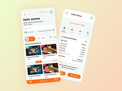 Digital Food Menu smart menu android app ui ios app ui food app ui food ui appuiux app ui ux application design app ui ui app app design design