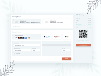 Order Checkout ui order confirmation payment form checkout process checkout flow checkout pay payment checkout form checkout page dailyui user experience daily ui application ux