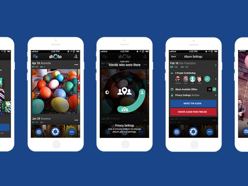 Shoto iPhone App iphone app photo share timeline