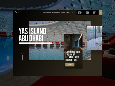 Viceroy Abudhabi hotel branding hotel booking hospitality design ux ui