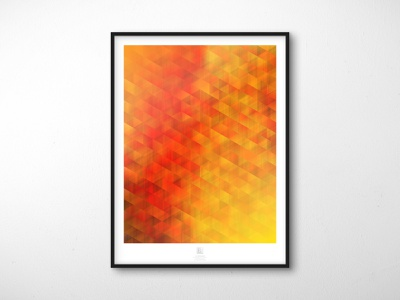 Randomization Poster Series - 03 // Motion Blur wall art mockup software plugin poster design design blend mode abstract poster illustrator extension abstract adobe illustrator
