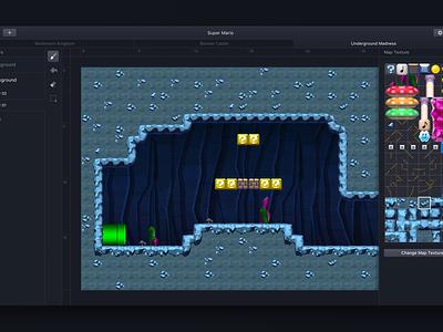 Introducing Mapkit! games mario ux dark ui editor macos