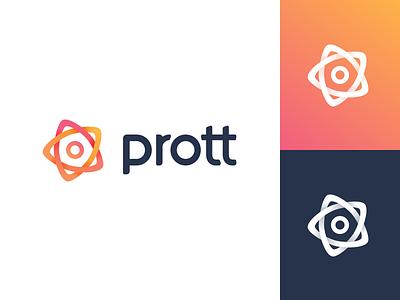 Prott 2 - Logo redesign prototyping logo branding