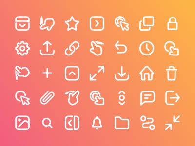 Prott 2 - Icon set