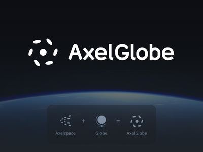 AxelGlobe - Logo orbit space icon logo mark logo