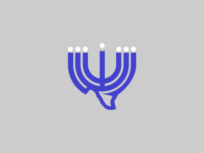 Texas Menorah