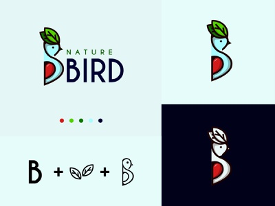 nature bird branding logo design logodesign logodaily illustration art brand identity brand design logotype logo mark logo