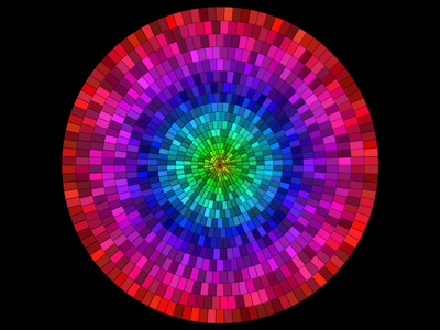 Stained Pixel discrete software art arc