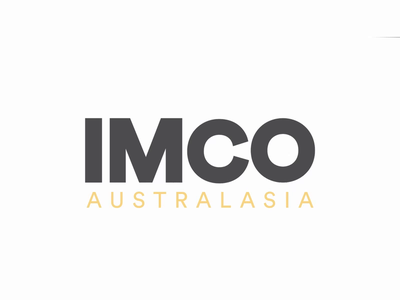 IMCO Australasia Logo Animation illustration animated logo design logo animation design animation animated logo typography design mad marketing
