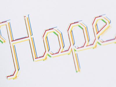 Hope Close Up hope colorful logo