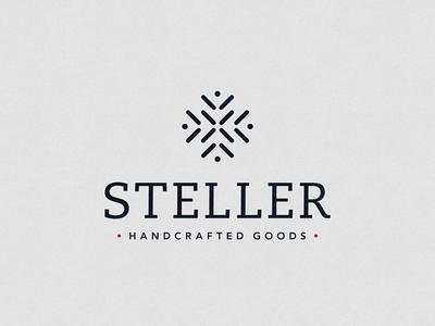 Steller Handcrafted Goods Logo