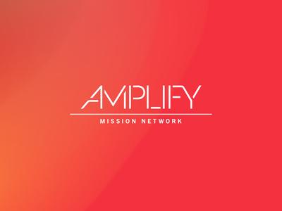 Amplify Mission Network branding