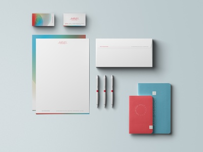 Amplify Stationery Package non profit non-profit nonprofit stationery design stationery branding