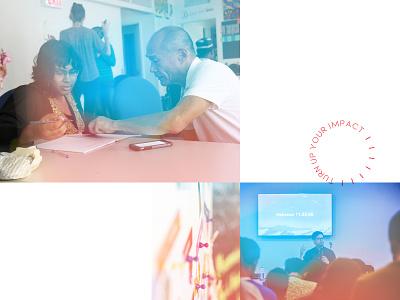 Amplify Brand Photography Treatment 2 layout bright branding