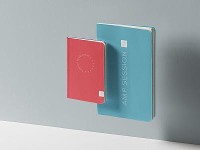 Amplify Notebooks non profit non-profit nonprofit logo layout branding