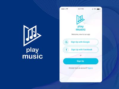 Play Music iOS App