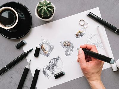 cadproof jewelry sketch caddesignarmenia dribble jewelrydesignerarmenia 3darmenia branding cadproof