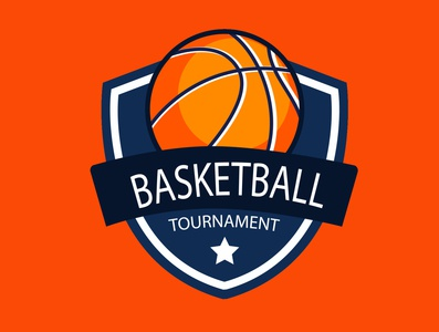 basket design logo designer desain logo tournament basketball icon design illustration logo branding