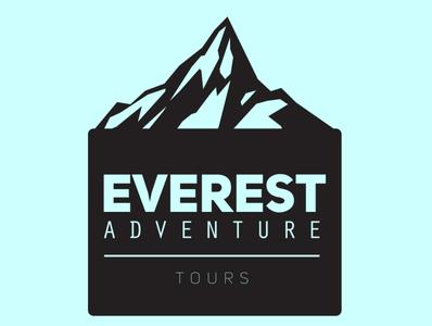 EVEREST mountain mountains everest icon designer branding desain logo design logo illustration