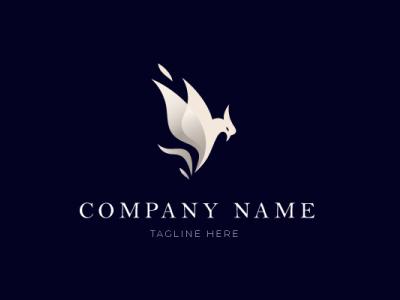 minimalist eagle logo minimalist eagle typography vector design logo icon designer desain logo branding logo illustration design