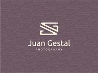 Juan Gestal v3 logo photography initials camera