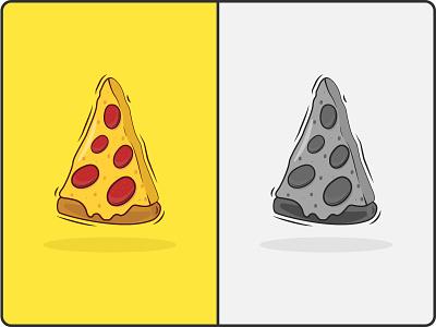 Pizza wallpaper icon branding graphic design logo vector dribbble fast food illustration art pizza