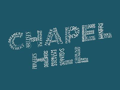 Chapel Hill Lettering illustration design custom custom lettering hand lettering handlettering custom type type typography lettering