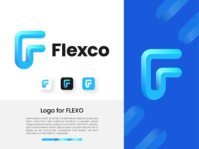 Flexco modern design modern isometric graphic design minimal icon app icon app 3d f letter f letter logo illustration vector design logo design logodesign branding brand logo 3d