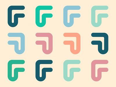 F letter artwork f letter artwork logo