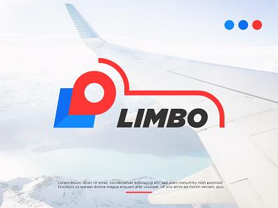 Limbo illustration icon letter l travel logo design logo design logodesign brand branding logo