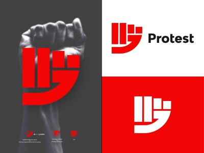Protest modern minimal fist minimal fist logo discrimination fist protest hand hand protest vector design logo design logodesign branding brand logo