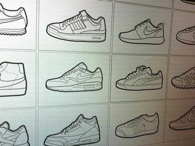 Sneakers wip