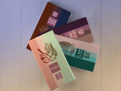 Chocolate brand - Love Choco logo pallete color brand chocolate graphic adobe illustrator design