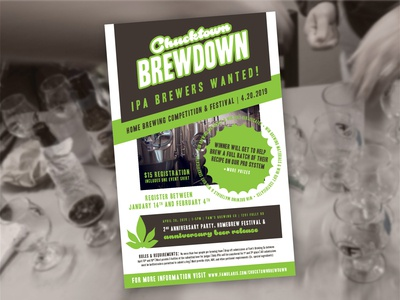Chucktown Brewdown 2019 Poster
