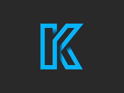 Ken's Fixes k letter type fight logo lettering digital type custom type