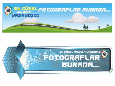 BANNER illüstrasyon banner ads banner design