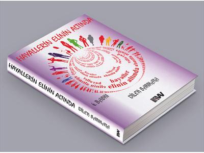 kitap kapak tasarımı slogan logo design mockup psd tasarımı kapak