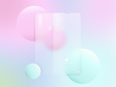 Glassmorphism | Glass-Effect Card | Glass Morphism phone phone app hello dribble dayliui art uiinspiration gradient design phone glass android app glassmorphism app ux figma desktop uxui uidesign interface concept ui design